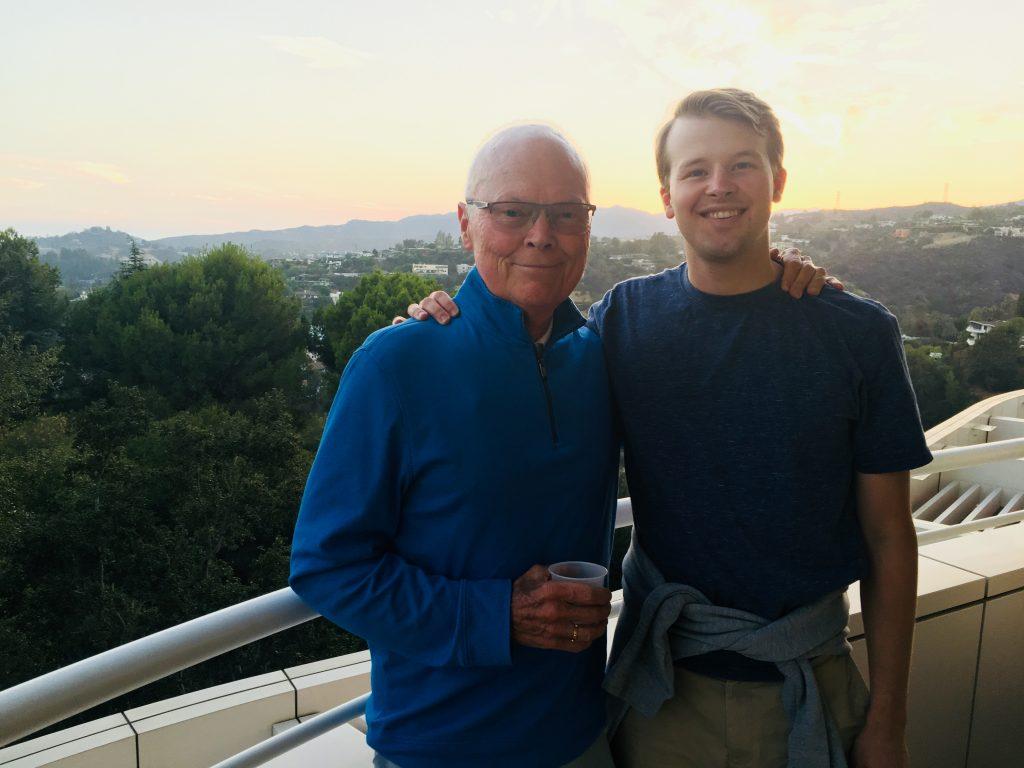 Larry & Dad
